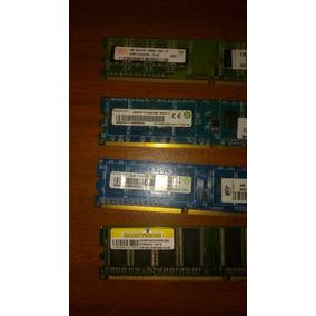 Memoria Ram 1gb 2gb 512mb Pc1 Pc2 Pc3