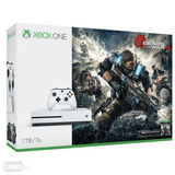 Xbox One S 1tb + Gears 4 + 7 Jgs Digitales + Financiami