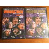 2 Dvd - Diário De Woodstock (1º E 2º Dia) Frete Grátis