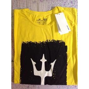 Osklen Amarelo - Camisetas para Masculino no Mercado Livre Brasil b81949dec2a