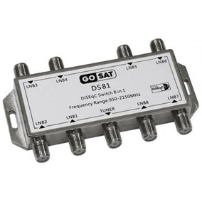 Chave Comutadora Diseqc 8x1 Gcn 1.1 - Frete Grátis