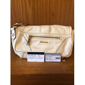 60210edf71066 Bolsa Prada Milano Em Couro Marrom - Bolsas no Mercado Livre Brasil