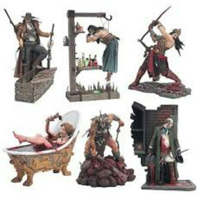 Coleção Spawn - 6 Faces Of Madness - Mcfarlane - 6 Pcs
