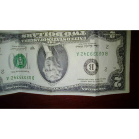 Billete De Dos Dolares Para Coleccion