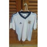 Camisa Oficial Da Argentina 2002 - Aceito Trocas.