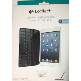 Teclado Mini Ultra Delgado Bluetooth Logitech Para Ipad Mini
