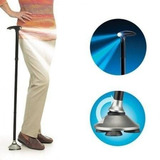 Baston Plegable Con Luz Led Retractil Cane Base Articulada