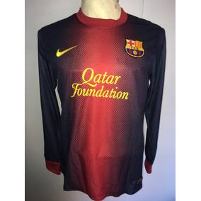 d605c8066fd0c Camiseta Manga Larga Barcelona - Camisetas en Mercado Libre Argentina