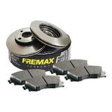Kit Discos Y Pastillas Fremax Clio 2-vent-k8-