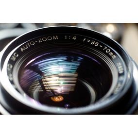 Olympus 35-70mm F4.0 Con Montura Canon Ef