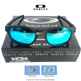 cc45ec4ebfcf4 Oculo Redondo Azul De Sol Oakley - Óculos De Sol Oakley no Mercado ...