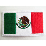 Bandera Mexico Parche 7x5cm Y Paises Uniforme Gotcha Pcoser