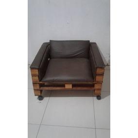 Poltrona De Pallets / Cadeira Decorativa Genesis