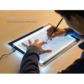 Display Led Light Pad A4s Tablet Desenho E Trasposição A4