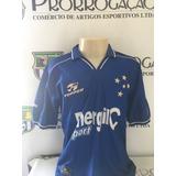 4b3cf4b468 Camisa Cruzeiro De Jogo Topper 2002 - Camisas de Futebol no Mercado ...
