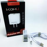 Carga Extra Rápida Cargador Inteligente Usb+ Cable Iphone 5