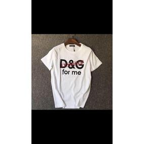 60836f554801b Camisetas Dolce Gabbana - Camisetas e Blusas Manga Curta em São ...
