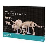 Nanoblock Dinosaurio Triceratops Esqueleto Tienda Oficial