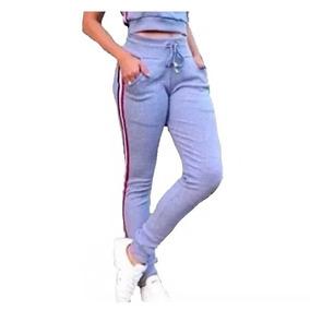 fc3038d5b3 Calça Feminina Poliester Com Punhos - Calçados