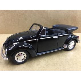 Miniatura Fusca Conversivel 1967 Preto