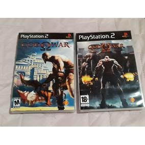 God Of War 1 E 2 Playstation 2 Patch Midia Excelente !!