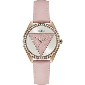 03f3bf74d73a Reloj Guess De Dama Rosa Con Plateado - Joyas y Relojes en Mercado ...