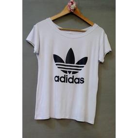 0c0058ef20282 Camisetas Adidas Feminina Estampada - Calçados