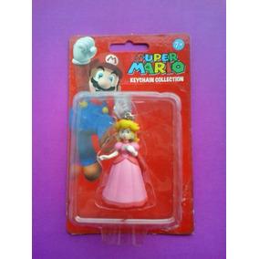 Llavero Figura Muñeca Peach De Mario Bros Nintendo