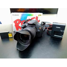 Canon T5 + Cartão 16gb Lente 18-55
