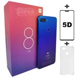 Celular Xiaomi Mi 8 Mi8 Lite Azul 64gb Global + Película 5d