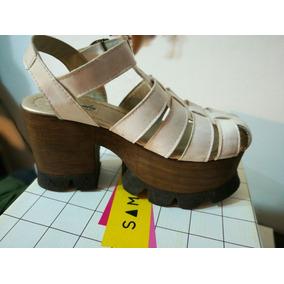 Zapatos Mujer Plataforma Tractor Blanca - Zapatos en Mercado Libre ... ca43866dcefe