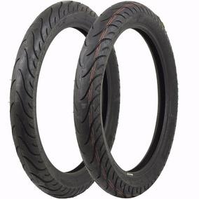 Pneu 2/75-18+90/90-18 Pilot Street S/ Camara Michelin Frete