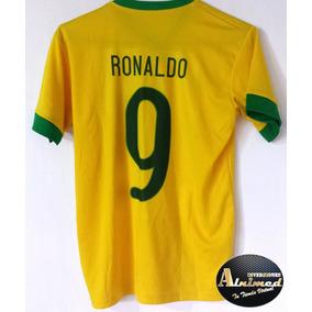 Camiseta Brasil Ronaldo 9 (inv Alnimed) fa751d407bf5a