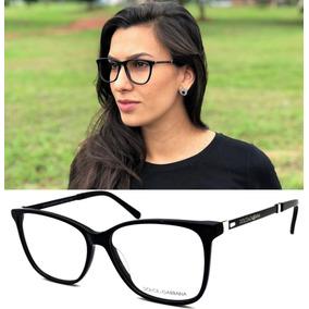 d432f276c6cef Oculos Gatinha Sem Grau Dolce Gabbana - Óculos no Mercado Livre Brasil
