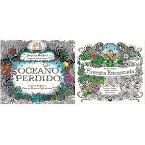 Oceano Perdido + Floresta Encantada Frete 14 Reais