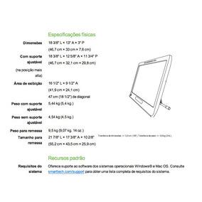 Visor Interativo Com Caneta Smart Podiumtm Modelo Sp518-nb