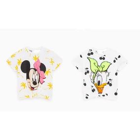 Camiseta Disney Lentejuelas Cambian Color Varios Modelos