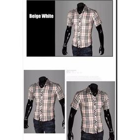 Camisa Manga Curta Social Masculina Anti-transpirante Ri
