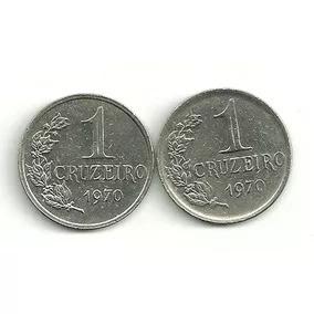 Moeda 1 Cruzeiro 1970 74 75 76 Lote C/ 4 Pç 20,00