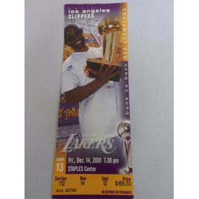 Ingresso Nba - Los Angeles Lakers 2001