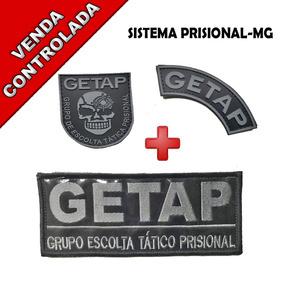 Distintivo Getap - Espadas e Artigos Militares no Mercado Livre Brasil f3864801f32