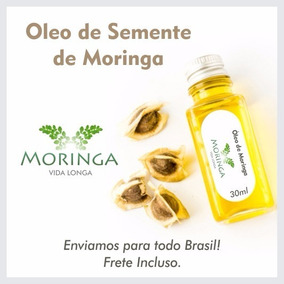 Óleo Puro De Semente De Moringa 80,00 Reais Frete Gratis