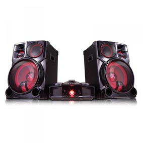 Mini System Lg Cm9960 4100w Rms Usb/mp3/bluetooth Preto