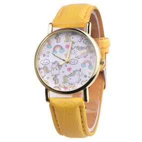 Relojes Dama Niña Unicornio Hermosos