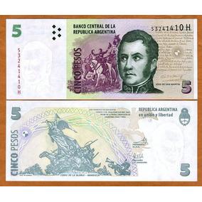 Argentina 5 Pesos 2003 P. 353 Fe Cédula - Tchequito