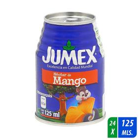 Néctar Jumex Mango 24 Latas De 125 Ml C/u