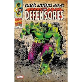 Coleção Histórica Marvel Os Defensores Volume 4