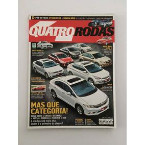 Revista Quatro Rodas - Janeiro 2012 - Nº 626 Cruze Elantra