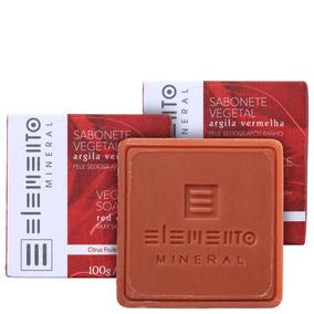 Kit Elemento Mineral Argila Vermelha (3 Produtos) Blz