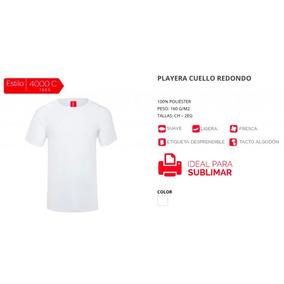 Playera Sublimar Sublimación Tacto Algodón en Mercado Libre México e51f95d009536